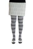 灰色裤袜 免版税库存图片