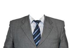 灰色诉讼 免版税库存图片