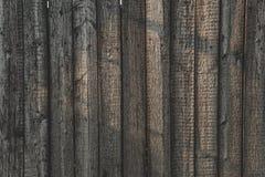 灰色谷仓木墙壁铺板宽纹理 老实体木材板条土气破旧的灰色背景 免版税库存照片