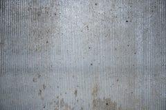 灰色金属板背景 免版税库存照片