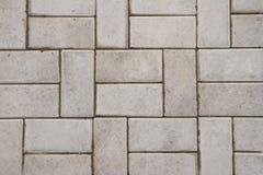 灰色铺磁砖的地板户外在形状长方形,充分的框架 库存照片