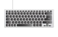 灰色键盘 免版税库存照片
