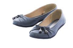 灰色鞋子 库存图片