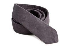 灰色领带 免版税库存照片