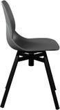 灰色颜色塑料椅子,现代设计师 在白色背景隔绝的转椅 家具例证内部向量 免版税库存照片
