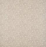灰色,奶油,果子样式棉花亚麻制织品背景 免版税库存图片
