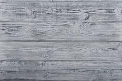 灰色织地不很细木桌 Brashing 木背景 免版税库存照片