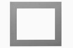 灰色画框 免版税库存照片