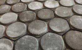 灰色水泥砖 库存图片