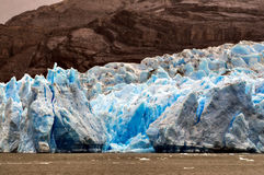 灰色Glacier托里斯del潘恩国家公园 库存图片