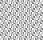 灰色rhomb样式传染媒介 库存例证