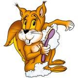 灰鼠洗涤物 库存图片