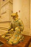 灵山菩萨山风景区灵山梵蒂冈宫殿黄道带 免版税库存照片