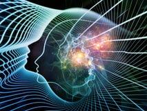 灵魂和头脑 向量例证