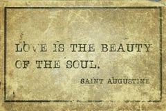 灵魂秀丽圣奥斯丁 库存图片