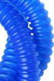 灵活的塑料管材 库存图片