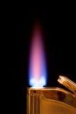 灼烧的打火机 免版税库存照片