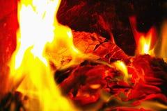 灼烧的文件 免版税库存图片