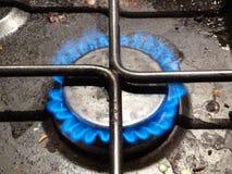 灼烧的气体 库存照片