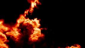 灼烧的火云彩喜欢恶魔地狱 股票录像