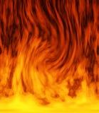 灼烧的火 库存照片