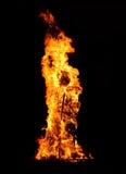 灼烧的玩偶 免版税库存照片