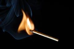 灼烧的符合 免版税库存照片