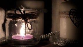 灼烧的蜡烛黑暗 股票录像