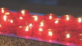 灼烧的蜡烛