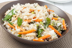 炒饭蔬菜 库存图片