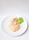 炒饭虾 免版税图库摄影