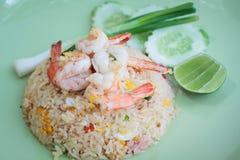 炒饭,泰国烹调 库存图片