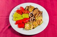 炖煮的食物菜1 免版税库存照片