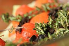炖煮的食物蔬菜 库存照片