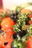 炖煮的食物蔬菜 免版税库存图片