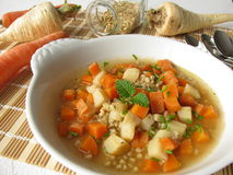 炖煮的食物蔬菜 免版税库存照片