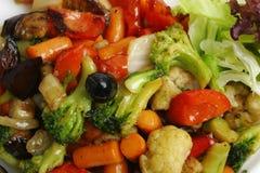 炖煮的食物蔬菜 图库摄影