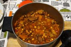 炖煮的食物 图库摄影