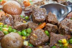 炖牛肉 免版税库存图片