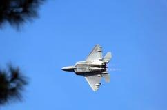 炫耀在太阳n乐趣的海军喷气机 库存照片