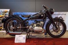 炫耀摩托车BMW R66, 1939年 免版税库存图片