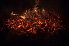 炭烬 免版税库存照片