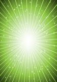 炸开绿色超新星 库存图片