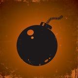 炸弹例证 免版税库存照片