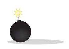 炸弹向量 免版税库存图片