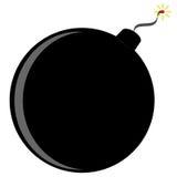 炸弹向量 库存照片