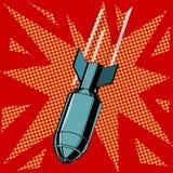 炸弹展开 皇族释放例证