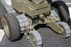 炸弹机器人 免版税图库摄影