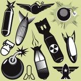 炸弹汇集 库存图片
