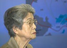 炸弹kajimoto核幸存者yoshiko 库存照片